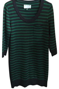 Rag & Bone short dress charcoal gray & green on Tradesy