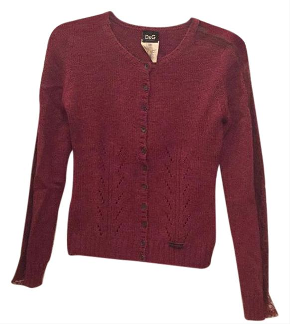 Preload https://img-static.tradesy.com/item/20608844/dolce-and-gabbana-mauve-cardigan-size-0-xs-0-1-650-650.jpg