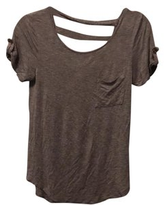 Zenana Outfitter T Shirt Grey