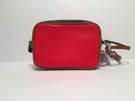 Coach Colorblock Pouch Wristlet in Multicolor