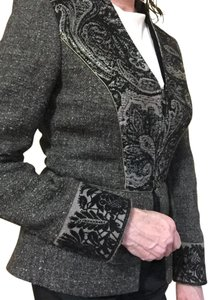 Etro gray/black Blazer