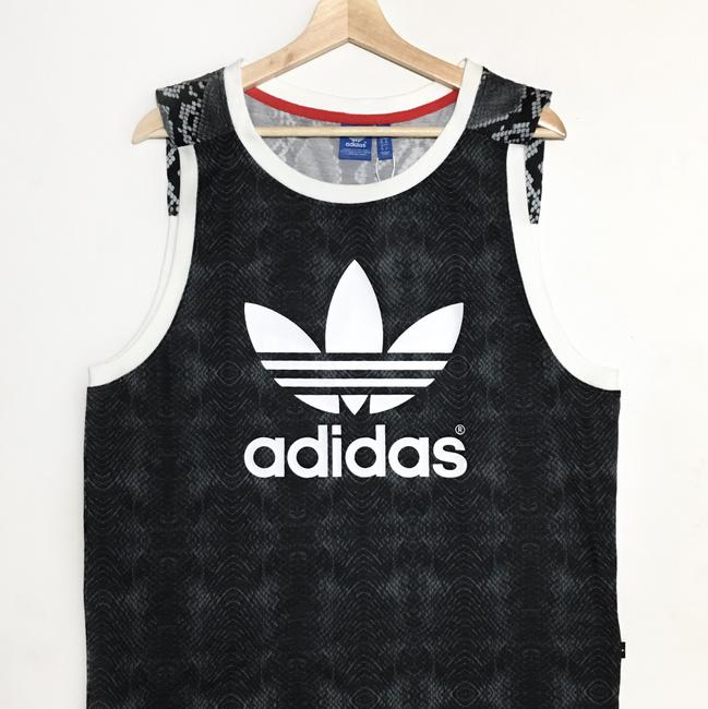 adidas Top Black/Gray/White