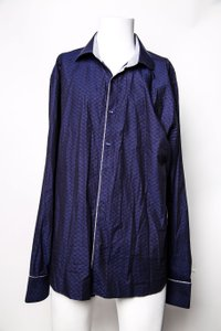 Blue * Long Sleeves Shirt