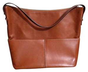 Kate Spade Tote in Tan, pressed leather