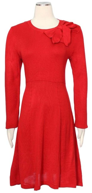 Preload https://img-static.tradesy.com/item/20609449/jessica-howard-red-mid-length-short-casual-dress-size-8-m-0-1-650-650.jpg