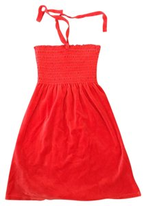 Juicy Couture short dress Red-Orange on Tradesy