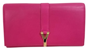 Saint Laurent Lipstick Fuchsia Clutch