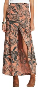 Free People Smooth Sailing W Color: Salmon 28 Inch Waist Skirt