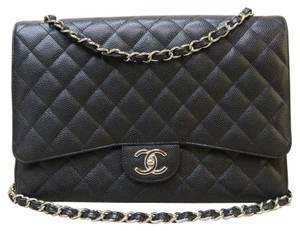 Chanel Like New Caviar Maxi Shoulder Bag