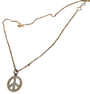 Juicy Couture peace sign