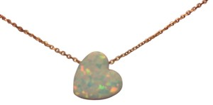 Isabella m Boston Heart Necklace