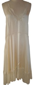 Anthropologie short dress Ivory on Tradesy