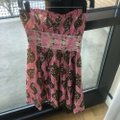 Anthropologie Brown and Pink Plenty By Tracy Reese Strapless Mid-length Casual Maxi Dress Size 2 (XS) Anthropologie Brown and Pink Plenty By Tracy Reese Strapless Mid-length Casual Maxi Dress Size 2 (XS) Image 2