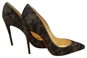 Christian Louboutin Fusain (gray/black) Pumps