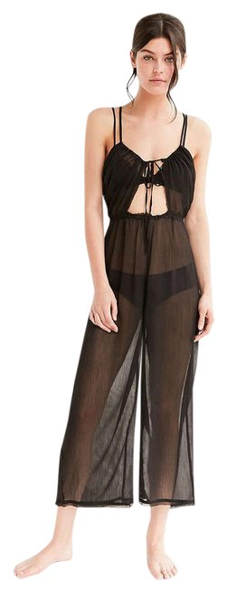 Preload https://img-static.tradesy.com/item/20610041/urban-outfitters-black-out-from-under-keyhole-tie-up-long-romperjumpsuit-size-0-xs-0-1-650-650.jpg