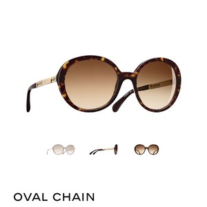 Chanel oval chain