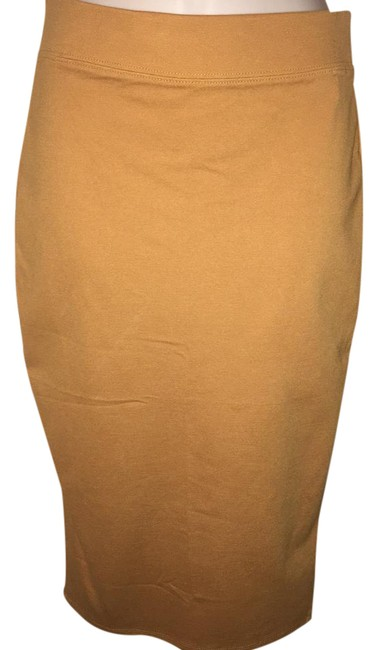 Preload https://img-static.tradesy.com/item/20610122/iris-basic-mustard-yellow-pencil-skirt-size-6-s-28-0-1-650-650.jpg