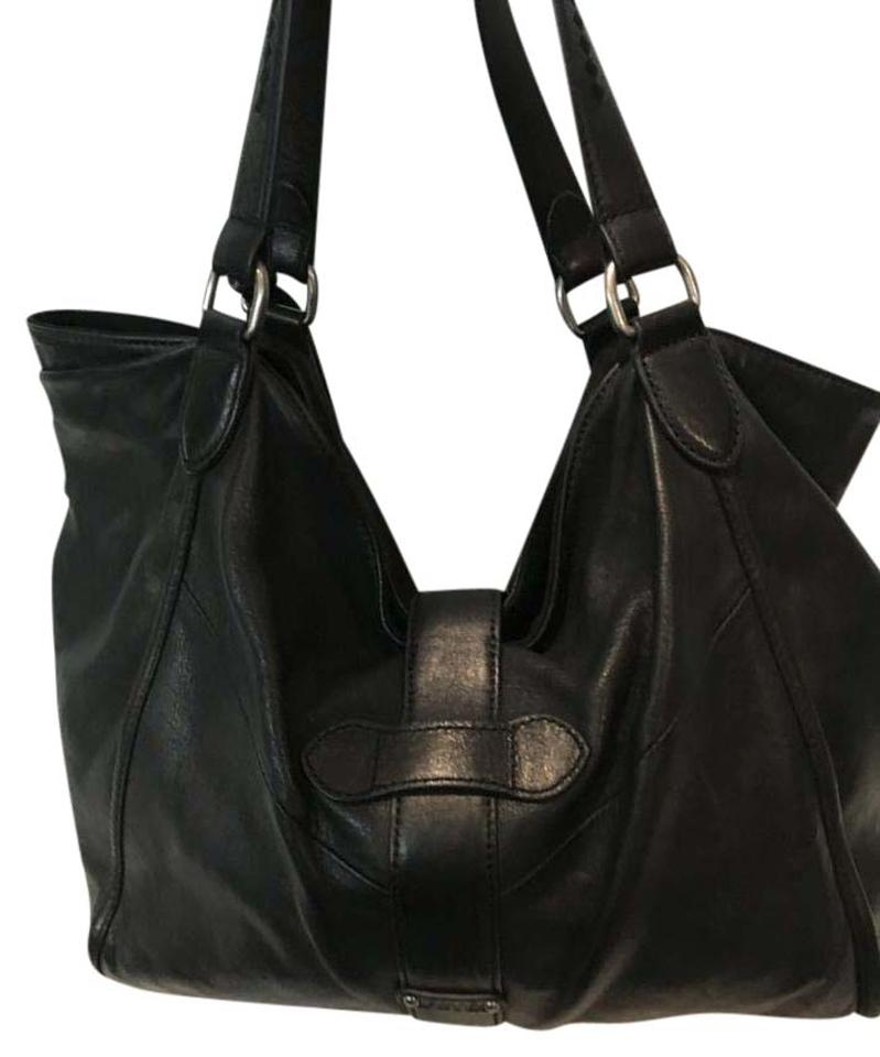 120b60561f Frye Belle Bohemian Satchel Black Leather Hobo Bag - Tradesy