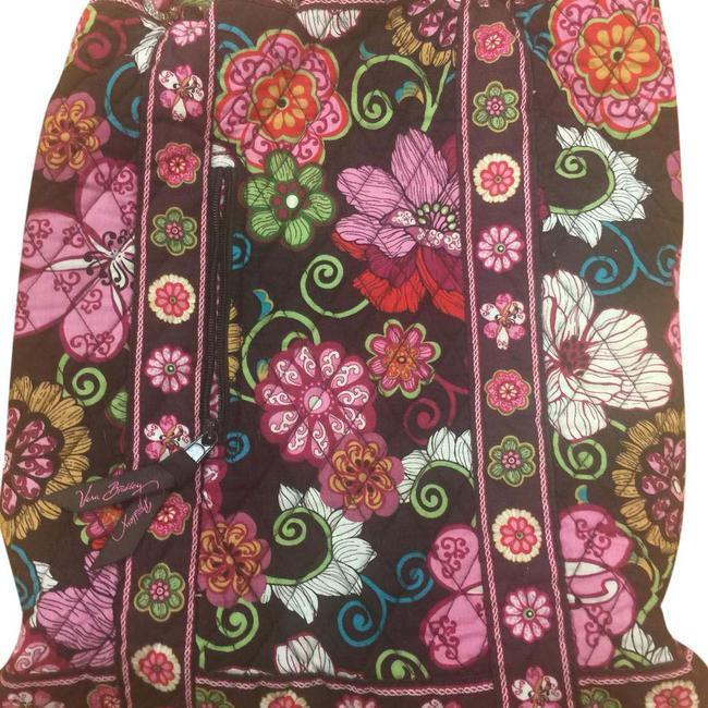 Item - N A Multi Color Quilted Type Cotton Material Backpack