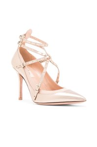 Valentino Gold & Ivory Pumps