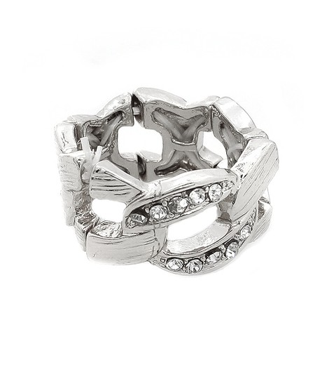Preload https://img-static.tradesy.com/item/20610247/silver-rhinestone-stretch-ring-0-0-540-540.jpg