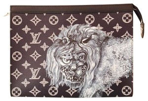 Louis Vuitton Wristlet in black ink