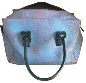 Opening Ceremony Satchel in blue/red