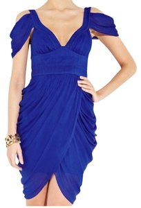 Catherine Malandrino Chiffon Draped Dress