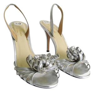 Kate Spade Gold Strappy Heels Silver Sandals