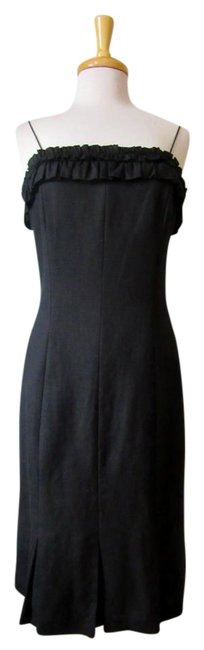 Preload https://img-static.tradesy.com/item/20610493/jessica-howard-black-linen-rayon-tank-mid-length-cocktail-dress-size-14-l-0-2-650-650.jpg