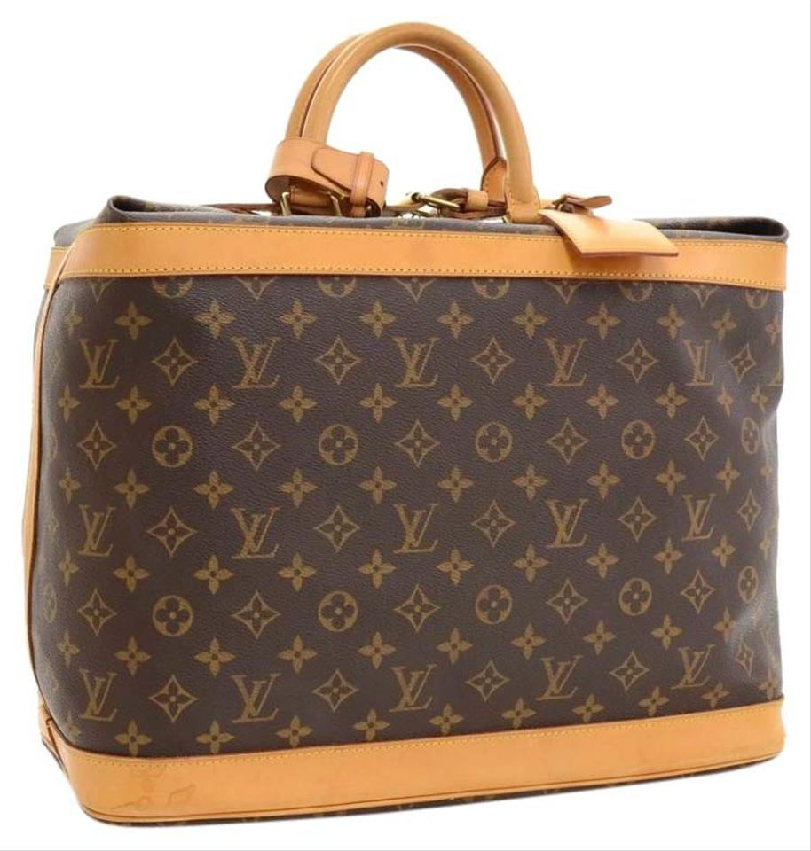 Louis Vuitton Cruiser 40 Luggage Tag And Handle Grip Monogram ...
