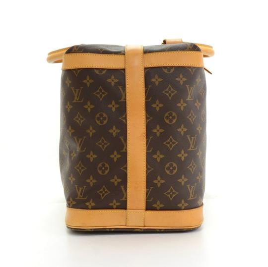 Louis Vuitton Cruiser Keepall Carry On Luggage Duffle Brown Travel Bag