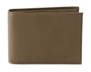 Gucci GUCCI 292534 Men's Leather Bifold Wallet, Brown