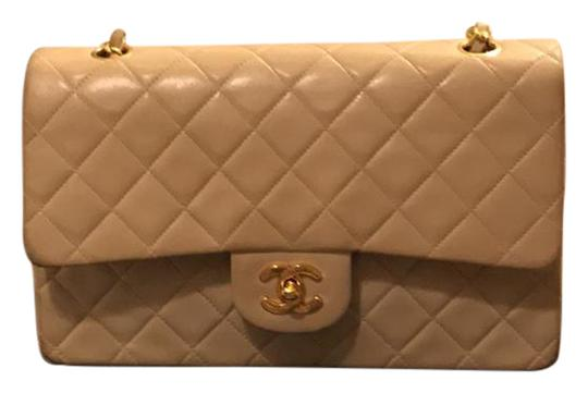 Preload https://img-static.tradesy.com/item/20610827/chanel-flap-nude-lamb-skin-cross-body-bag-0-1-540-540.jpg