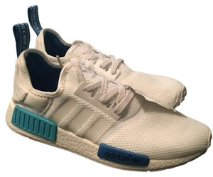 Adidas NMD White, blue Athletic