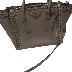 Prada Tote in neutral beige tan