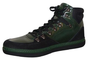 Gucci Sneakers Sneakers Mens Hitop Sneakers Green Athletic