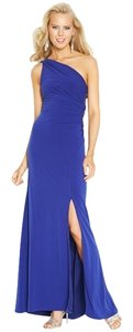 Hailey Logan Cut-out One Embellished Slit Prom Dress