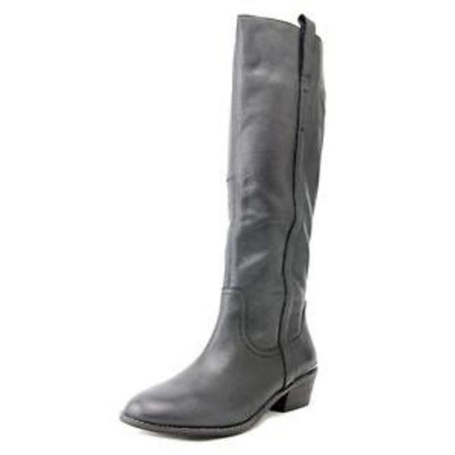 Item - Black Leather Boots/Booties Size US 6 Regular (M, B)