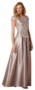 Adrianna Papell Ball Gown Gown Lace Dress
