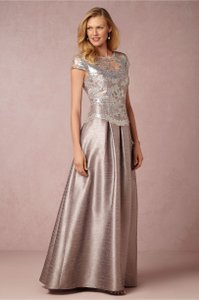 Adrianna Papell Pearl Grey Chelsea Dress