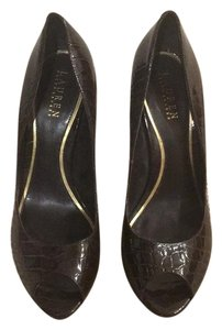 Lauren Ralph Lauren Dark Brown Pumps