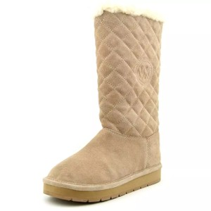 Michael Kors light tan khaki Boots