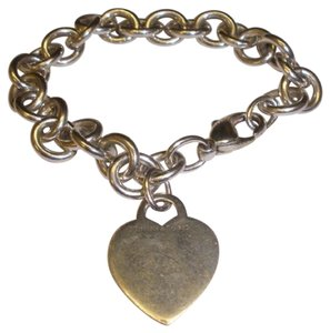 Tiffany & Co. Tiffany & co Heart tag bracelet engraveable