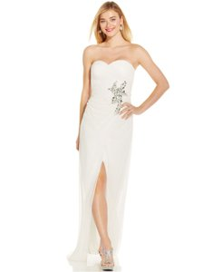 Adrianna Papell Jewel-embellished Strapless Gown Wedding Dress