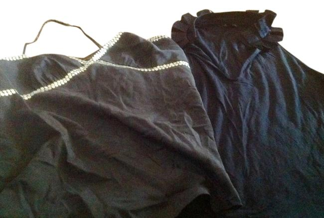 The Limited And T Shirt Style One Price Cami & Halter Top Navy Blue
