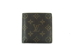 Louis Vuitton Marco Monogram Canvas Leather Bifold Mens Wallet