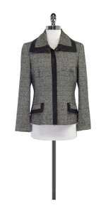 Dana Buchman Black & White Printed Jacket