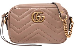 Gucci Mini Gg Marmont Matelasse New Shoulder Bag