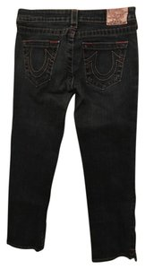 True Religion Capri/Cropped Denim-Medium Wash